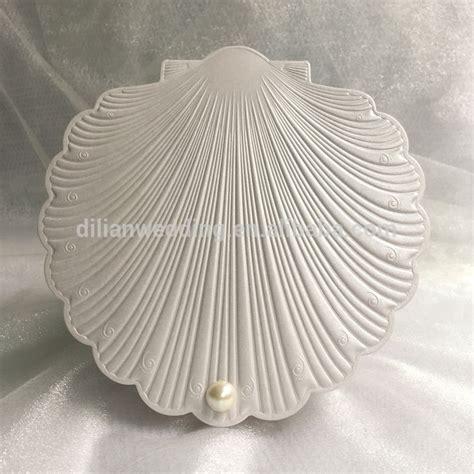 Elegant Shell Shape Free  Ee  Wedding Ee    Ee  Invitation Ee   Samples View