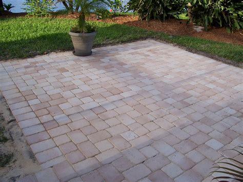 How To Clean Patio Pavers Decorative Patio Pavers Decosee