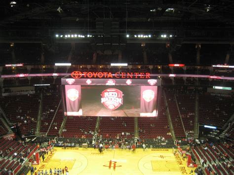 Best Seats At Toyota Center Best Seats In The 400 Level Maybe Toyota Center Section