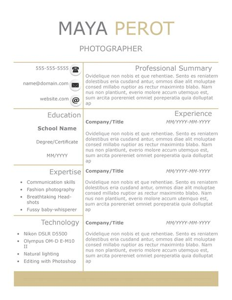 day cv template new slick resume templates pack the grid system