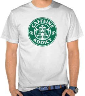 Kaos Distro Coffee Addict 9 jual kaos starbuck beli kaos distro murah di