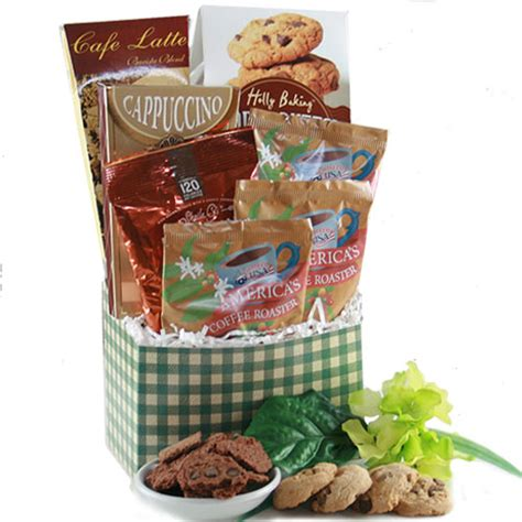 comforts cafe cafe comforts coffee gift basket inspiredgiftoverflowing