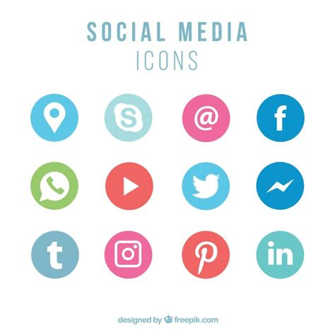 Free Email Search For Social Networks Collection Of Social Networking Icons Vector Free