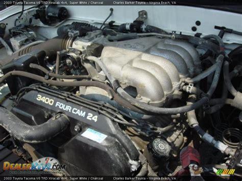 Toyota V6 Engines 2003 Toyota Tacoma V6 Trd Xtracab 4x4 3 4 Liter Dohc 24
