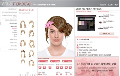 virtual hairstyler free virtual makeover free hair and makeup harper bazaar