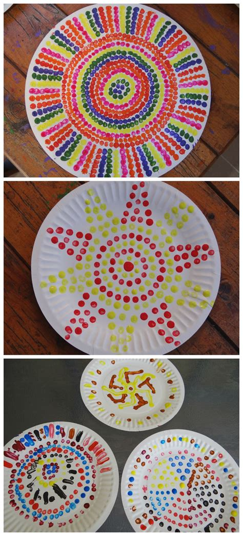 aboriginal craft for dot painting be a