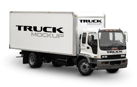 Small Great Room Designs - big truck mockup mockupworld