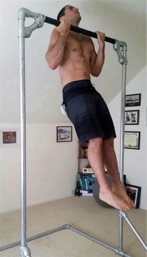 diy free standing pull up bar diy free standing pull up bar bigdiyideas