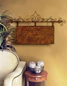 iron decorations for the home iron wall decor tuscan home design ideas