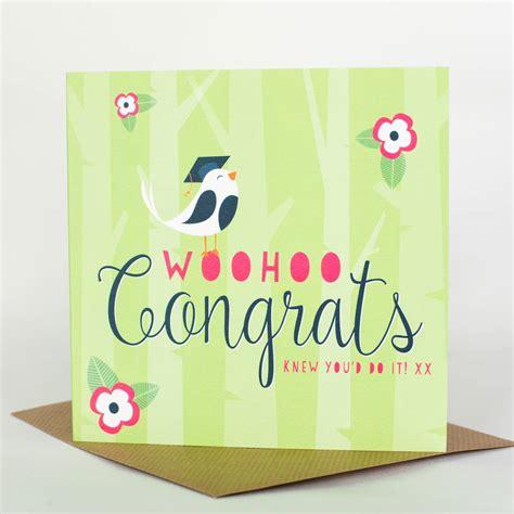 How To Use Woohoo Gift Card - woohoo congrats by allihopa notonthehighstreet com