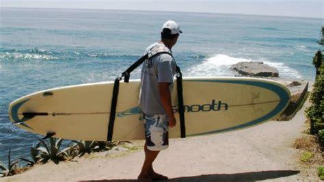 Clip Hang Sling Bags Wanita easy carry surf board sup shoulder sling adjust clip