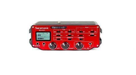 Saramonic Sr Ax104 Active Xlr Audio Adapter For Dslr saramonic sr ax107 dslr active xlr audio adapter photoking fot 243 vide 243 st 250 di 243