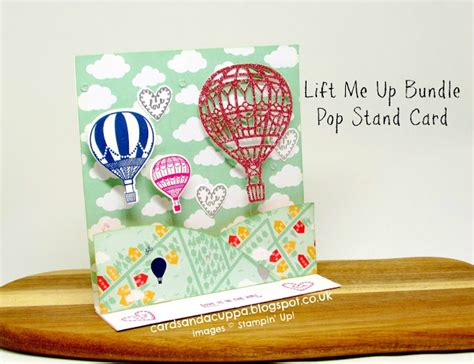 lift me up pop up card template cardsandacuppa stin up uk order