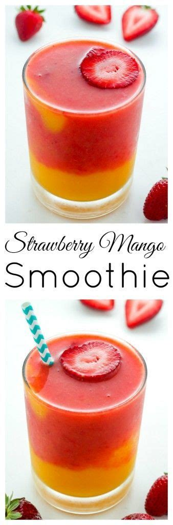 Treat Yourself With A Smoothie by Best 25 Strawberry Mango Smoothie Ideas On