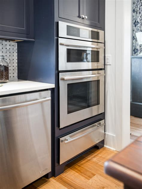 cabinet stacked microwave and oven safer and more efficient cooking with built in toaster