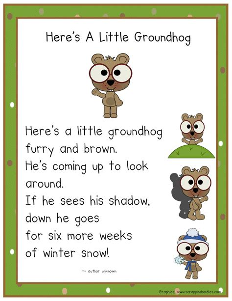 groundhog day poetry 17 best images about teaching ideas on