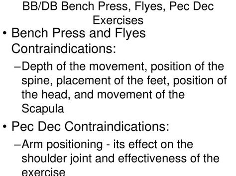 bb bench press ppt glenohumeral joint pectoralis major and coracobrachialis powerpoint