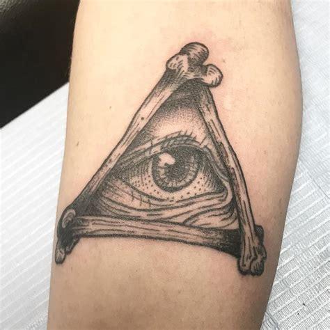 broken lantern tattoo all seeing eye by burnett tattoos