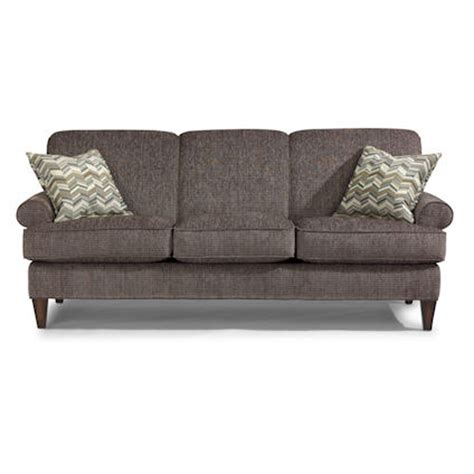 flexsteel penthouse sofa flexsteel 5654 31 venture sofa discount furniture at