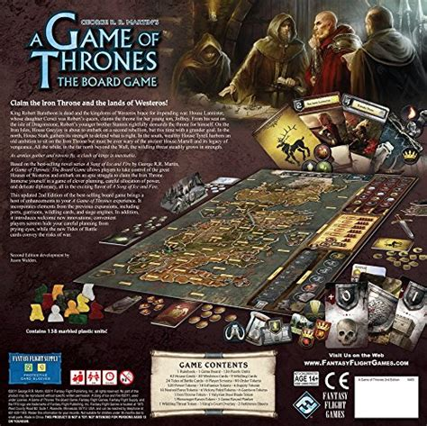 A Of Thrones The Board Second Edition a of thrones the board g sale r50 your
