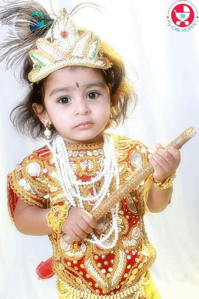 7 Tips On How To Dress Your Age by 7 Tips To Dress Your Baby In Krishna Dress Paperblog