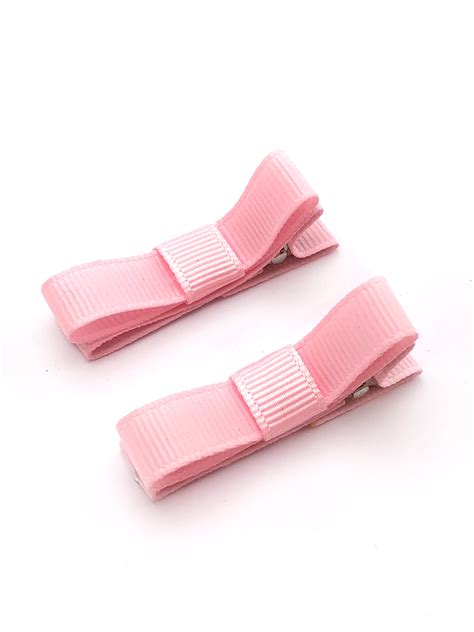 Set Of 2 Hair Clip set of 2 ribbon bow hair heka