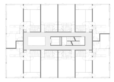 Large House Floor Plan Gallery Of Atriumtower Hiphouse Zwolle Atelier Kempe