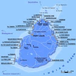mauritius hotels map hotels locations map mauritius