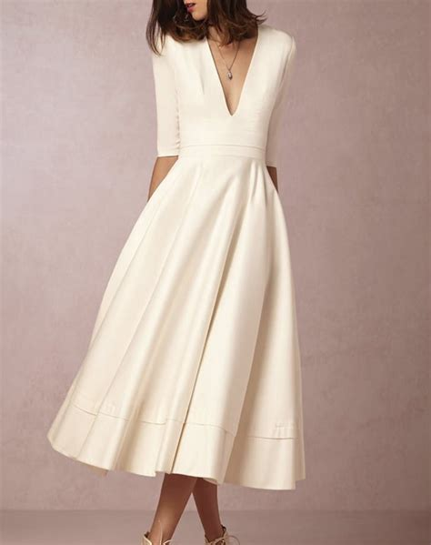 Informal White Wedding Dresses by Informal Wedding Dresses For Flower Dresses