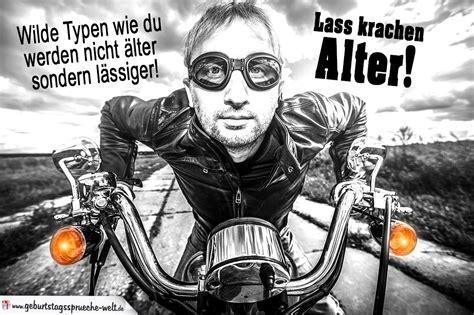 Motorrad Spr Che Witzig by Spr 252 Che Geburtstag Motorrad Directdrukken