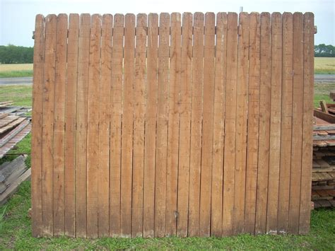 Fence Panels road wood fence panels pickets wylie 22 pine fence panels used w