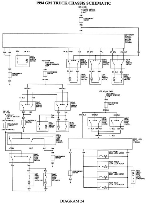 1994 chevy 4 wheel drive wiring diagram 1994 free engine