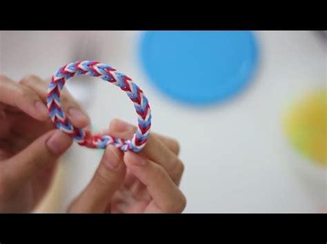 vidio membuat gelang karet cara biat gelang rainbow videolike