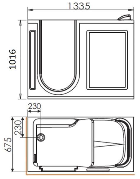 vasca con sportello listino prezzi vasca da bagno con apertura laterale