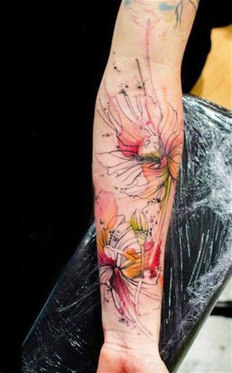 tattoo flower forearm 17 best images about flower tattoo on lower arm on pinterest