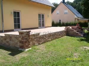 the terrasse galerie terrassen und wegebau inklusive treppen