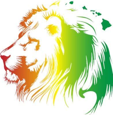 rasta lion clipart