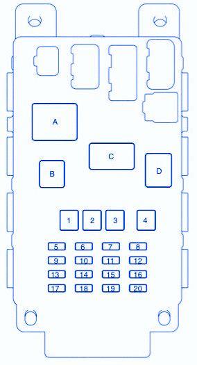 2005 scion tc fuse box diagram scion xb 2005 fuse box block circuit breaker diagram