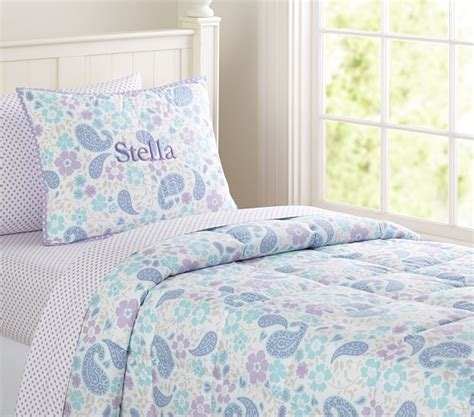 Paisley Quilt Bedding by Paisley Loft Quilted Bedding Pottery Barn