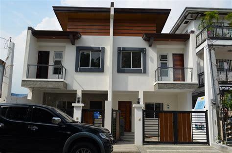 modern duplex house designs philippines duplex house modern asian duplex