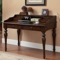 coaster furniture 801511 traditional writing desk with 6