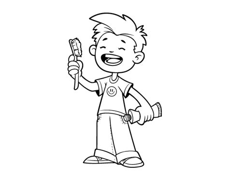 toothbrush coloring printable coloring pages