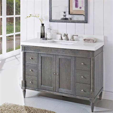 design house bathroom vanity fairmont designs rustic chic 48 quot vanity 142 v48 143 v48