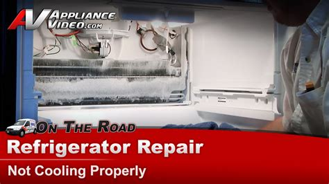 Kitchenaid Refrigerator Not Cooling Properly Refrigerator Repair Not Cooling Whirlpool Maytag