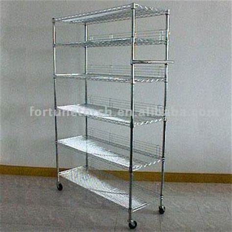 6 shelf wire rack