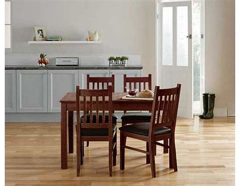 Cucina Walnut Dining Table And 4 Chairs Review Compare Cucina Dining Table And Chairs