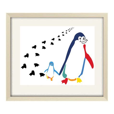 penguin bathroom decor bathroom art kids bathroom decor penguin art abstract art