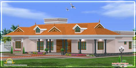 kerala style single storey house plans kerala single story house model 2800 sq ft kerala home design and floor plans