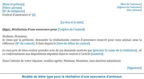 Modele Resiliation Contrat Assurance Habitation lettre pour r 233 silier une assurance contrat r 233 sili 233 jaoloron