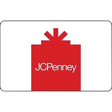 What Gift Cards Does Jcpenney Sell - jcpenney gift cards staples 174
